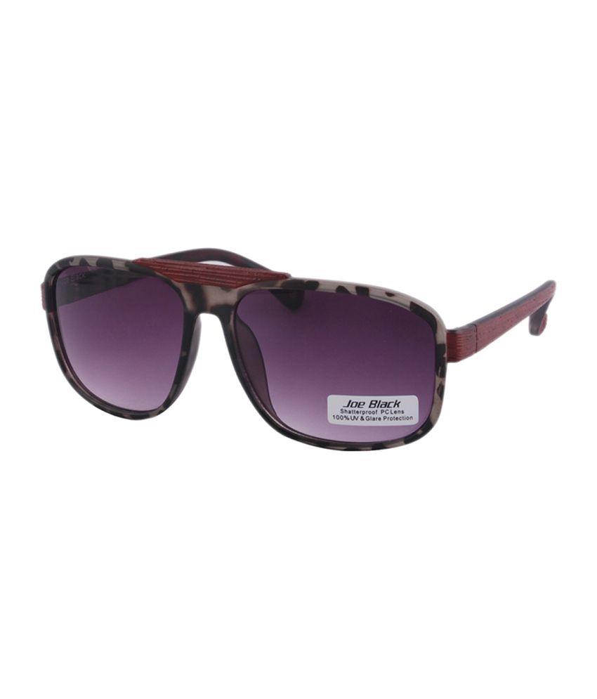 Joe Black - Black Rectangle Sunglasses ( jb-625-c2 )