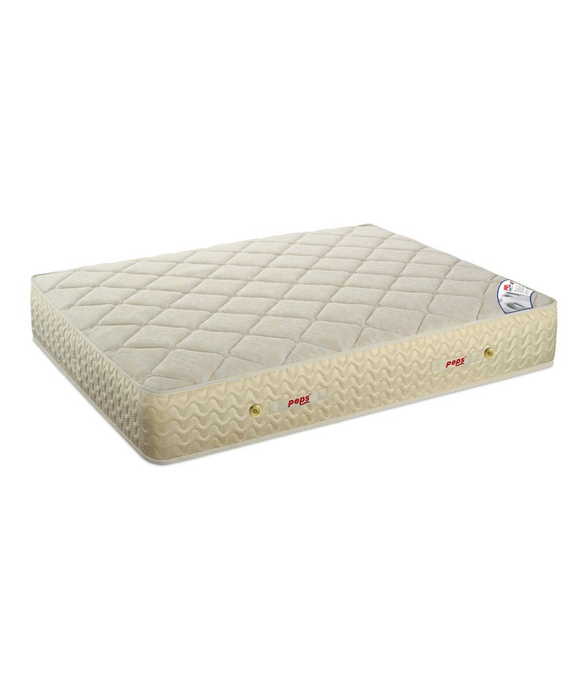 Peps Queen Size Restonic Pocketed Carousel Mattress 75x60x6 Inches Buy Peps Queen Size