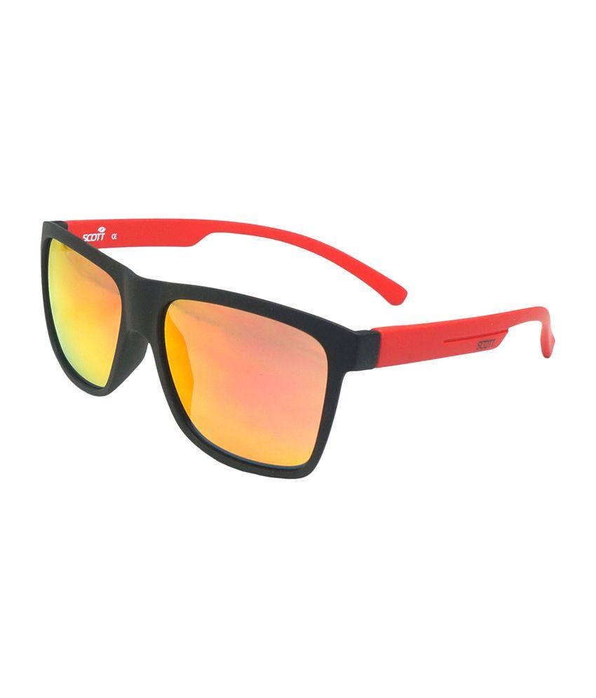Scott by Shoppers Stop Yellow Wayfarer Sunglasses (Sc 1889 C1)