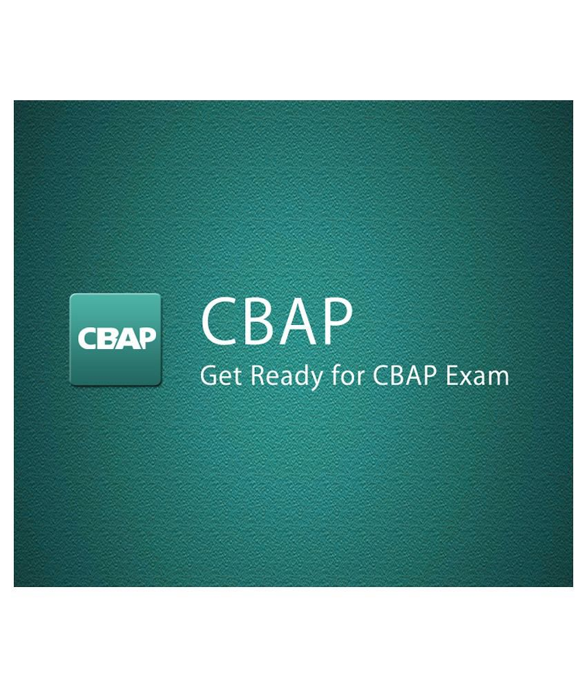 Cbap Certified Business Analysis Professional E Certificate
