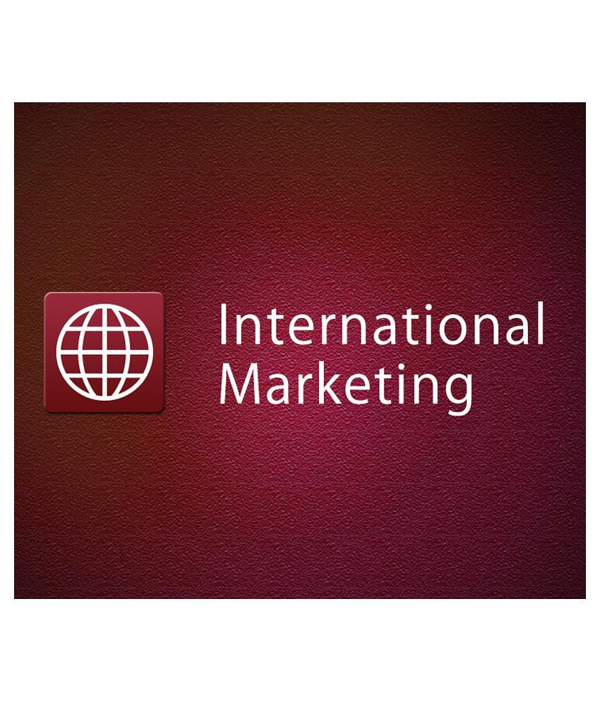 International Marketing (e-Certificate Course)-Online Video Training Material, Technical Support, Verifiable Certificate