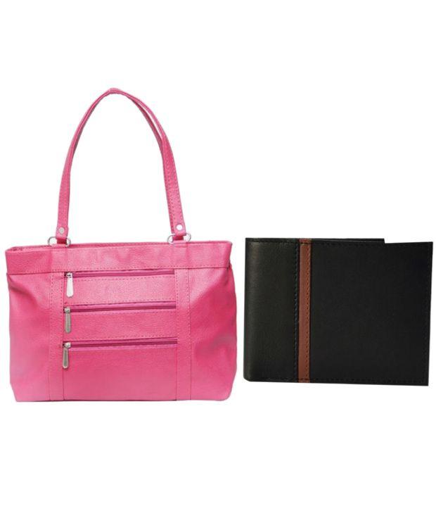 Borse Shoulder Bag And Wallet Combo