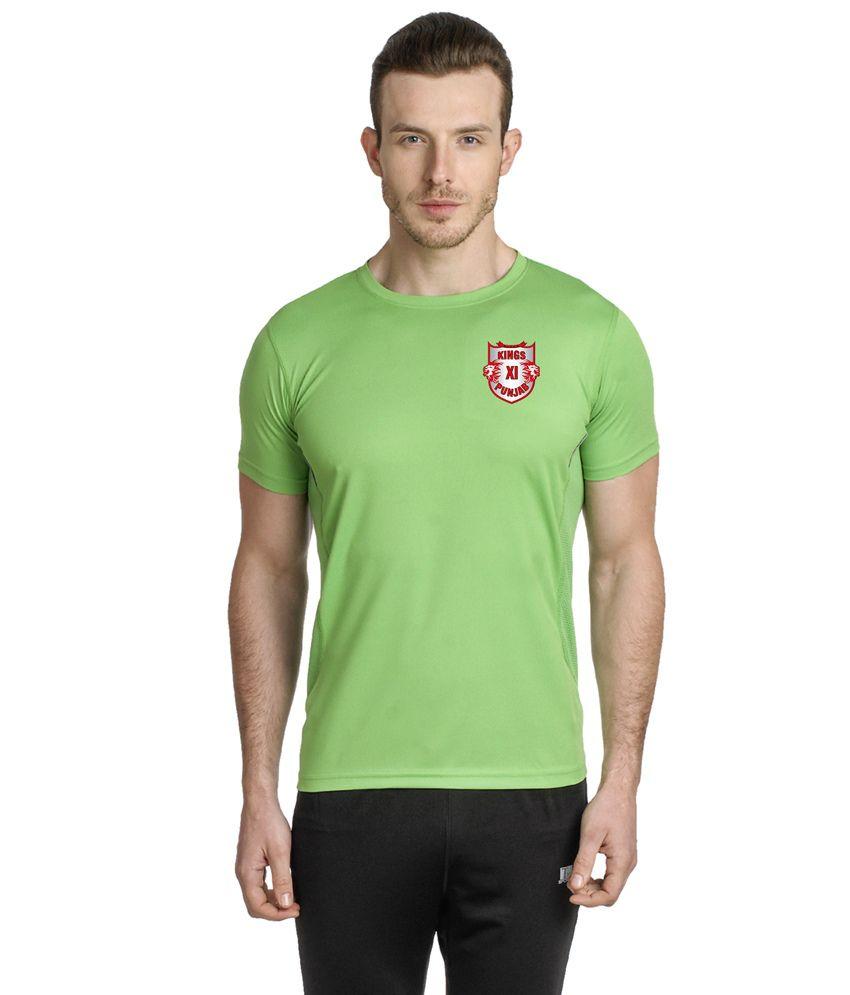 T10 Sports Green T Shirt