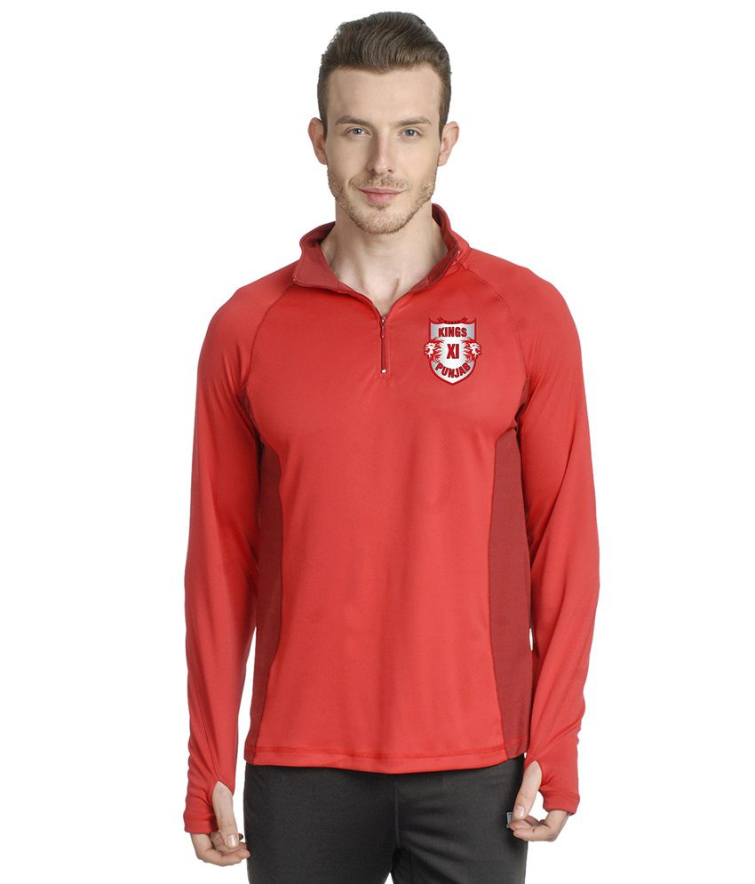 T10 Sports Red T Shirt