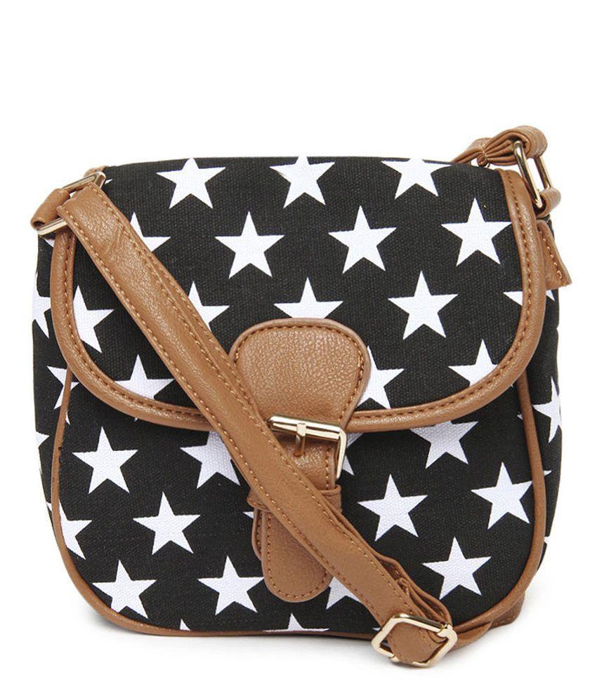 ToniQ Star Printed Sling Bag
