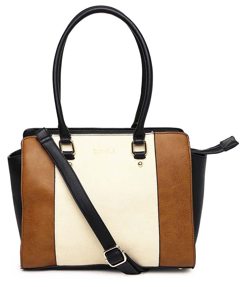 ToniQ Classic White Hand Bag