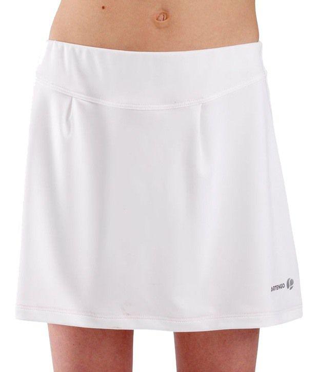 Artengo Chic White Skirt for Women