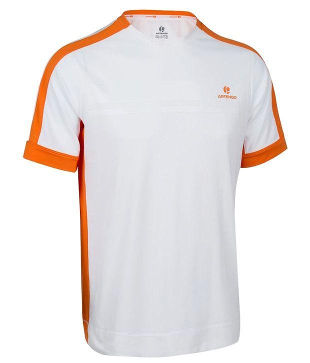 Artengo Chic White Unisex T Shirt