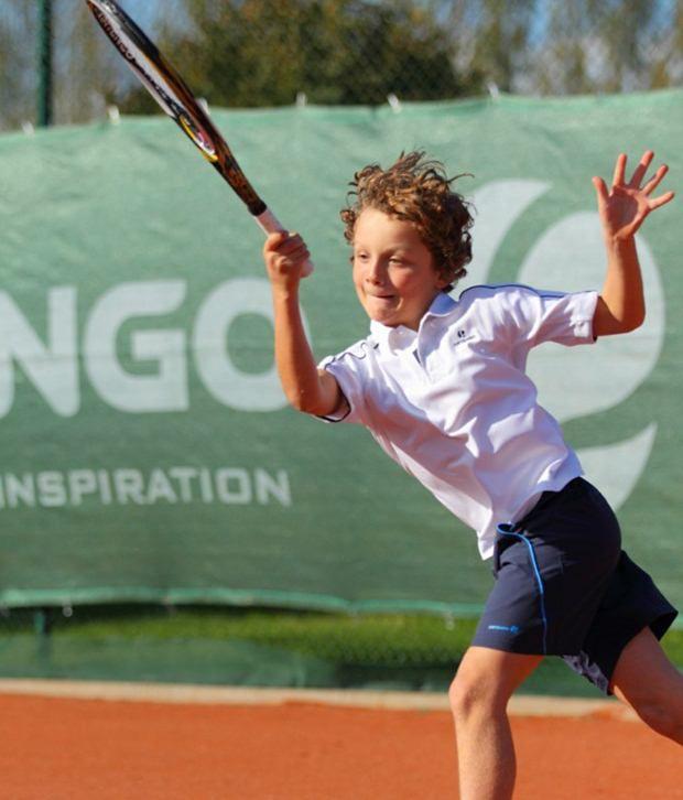 Artengo Evergreen Blue Tennis Shorts for Boys