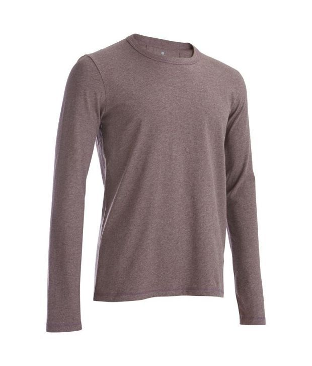 Domyos Long Sleeve T-shirt Fitness Apparel