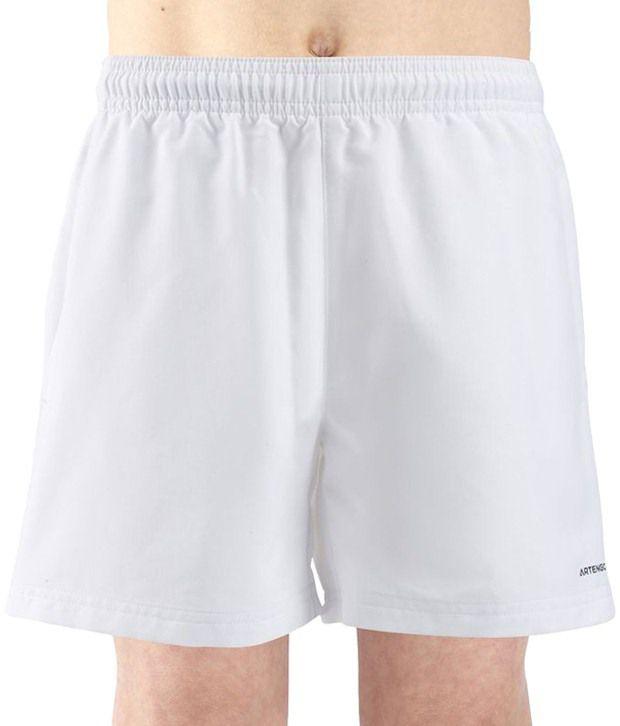 Artengo White Tennis Shorts for Boys
