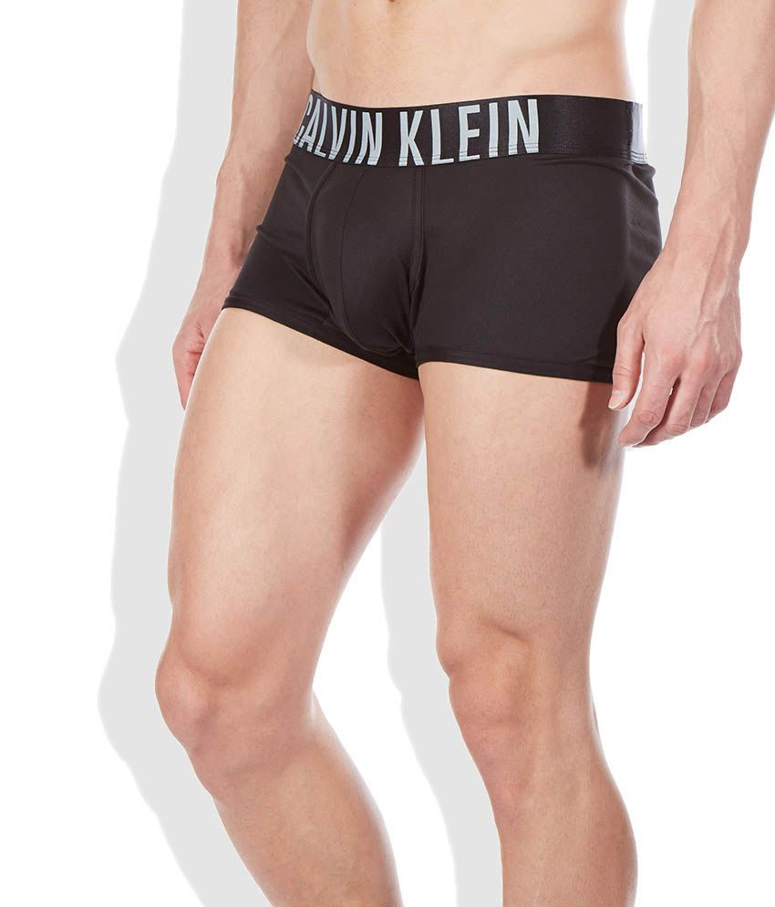 776f77c488 Calvin Klein Underwear Black Polyester Low Rise Trunk - Buy Calvin Klein  Underwear Black Polyester Low Rise Trunk Online at Low Price in India -  Snapdeal