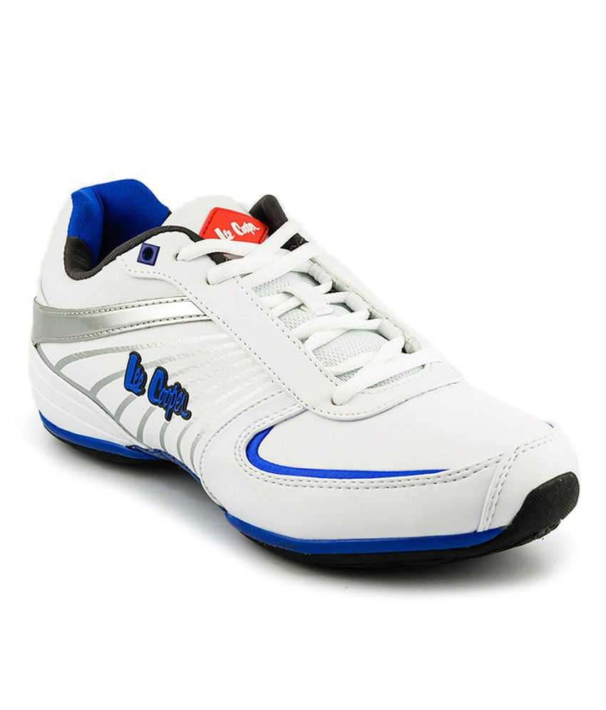 Lee Cooper White Sports Shoes - Buy Lee