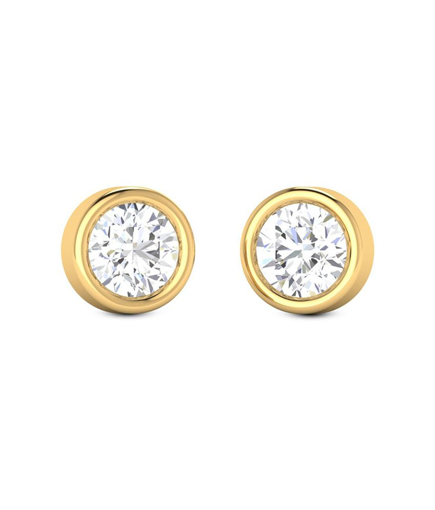 Diaashi Diamond Daily Solitaire Earrings