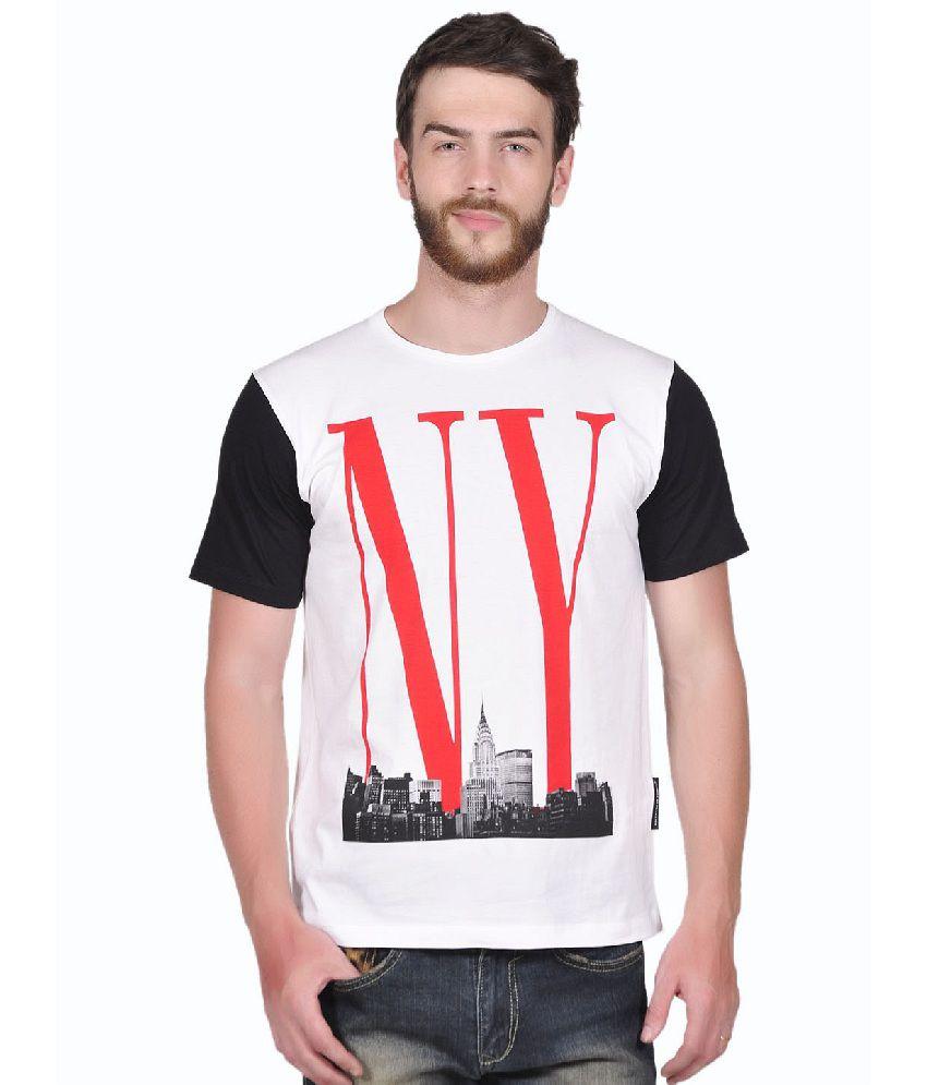 Tiktauli de. Corps. Cotton White Ny Fame T-Shirt