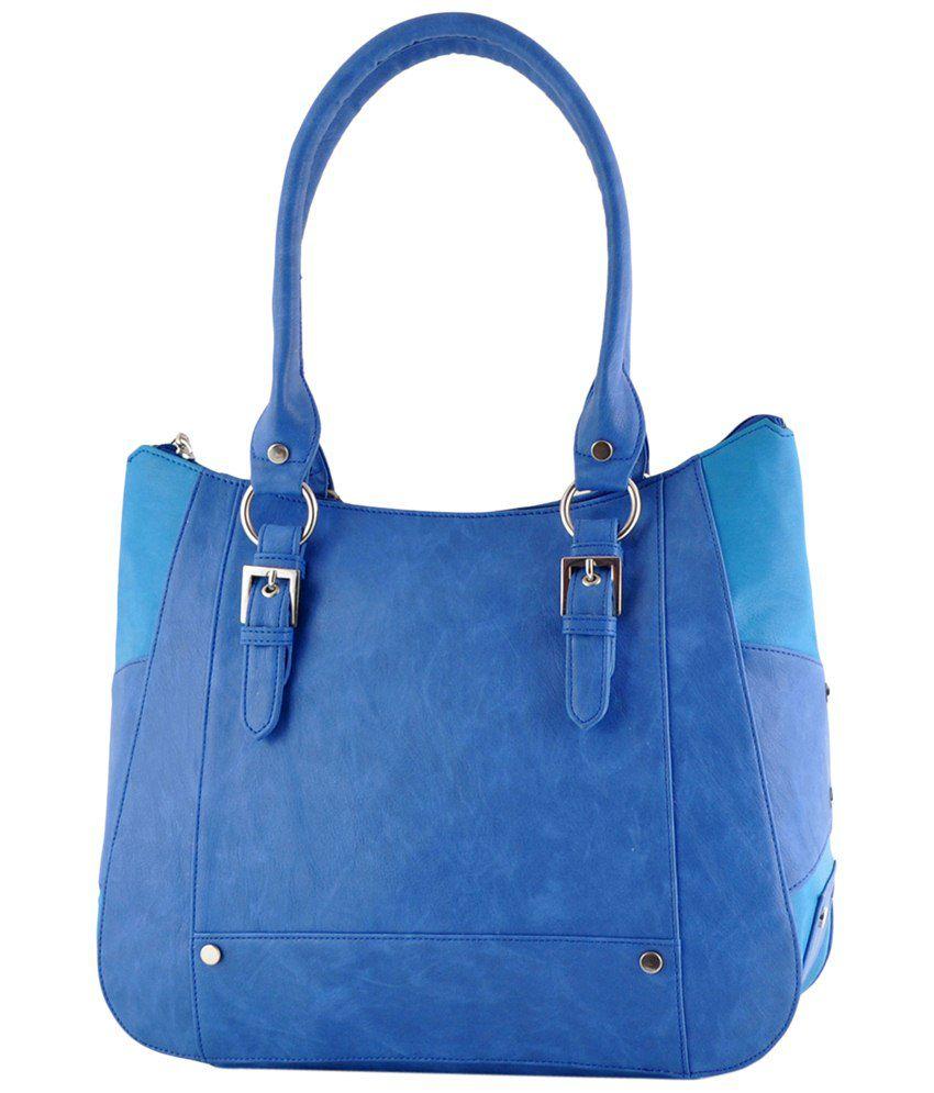 Butterflies BNS0546BL Blue Shoulder Bags