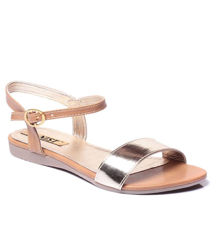 Gnist Beige Sandals