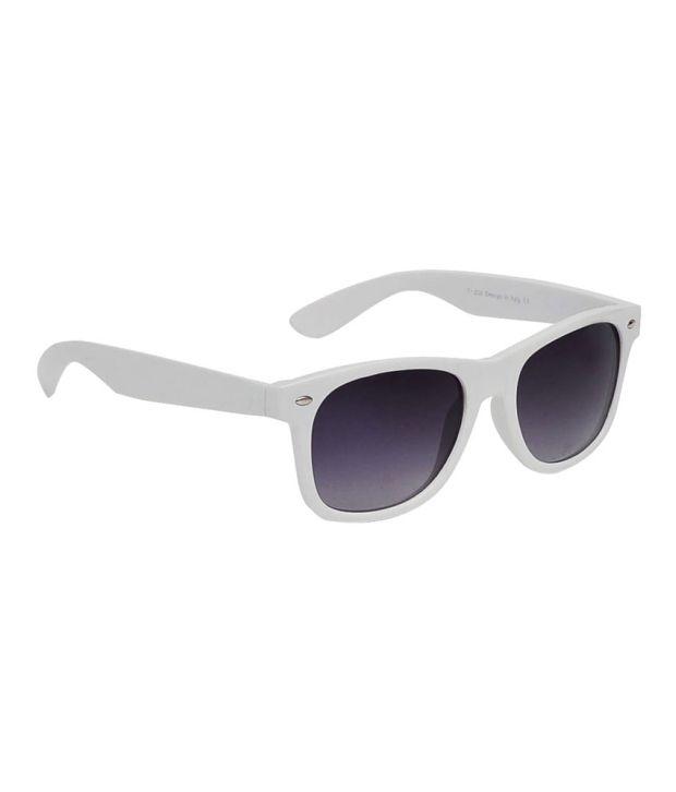 Hawai EWM000137 White Square Sunglasses for Men