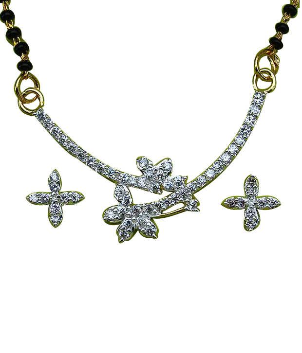 Johareez Gorgeous Two Tone Mangalsutra Set