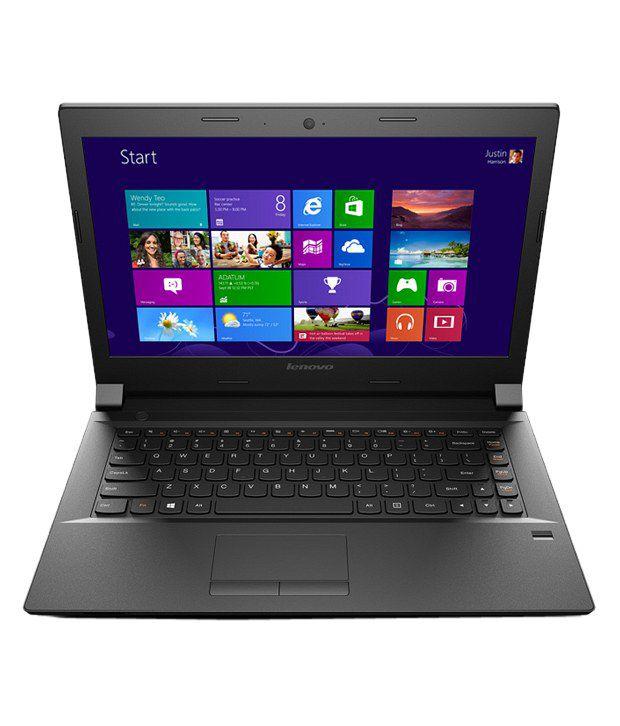 Lenovo B40-70 Notebook (59-438421) (4th Gen Intel Core i3- 4GB RAM- 500GB HDD- 35.56cm (14)- DOS) (Black)