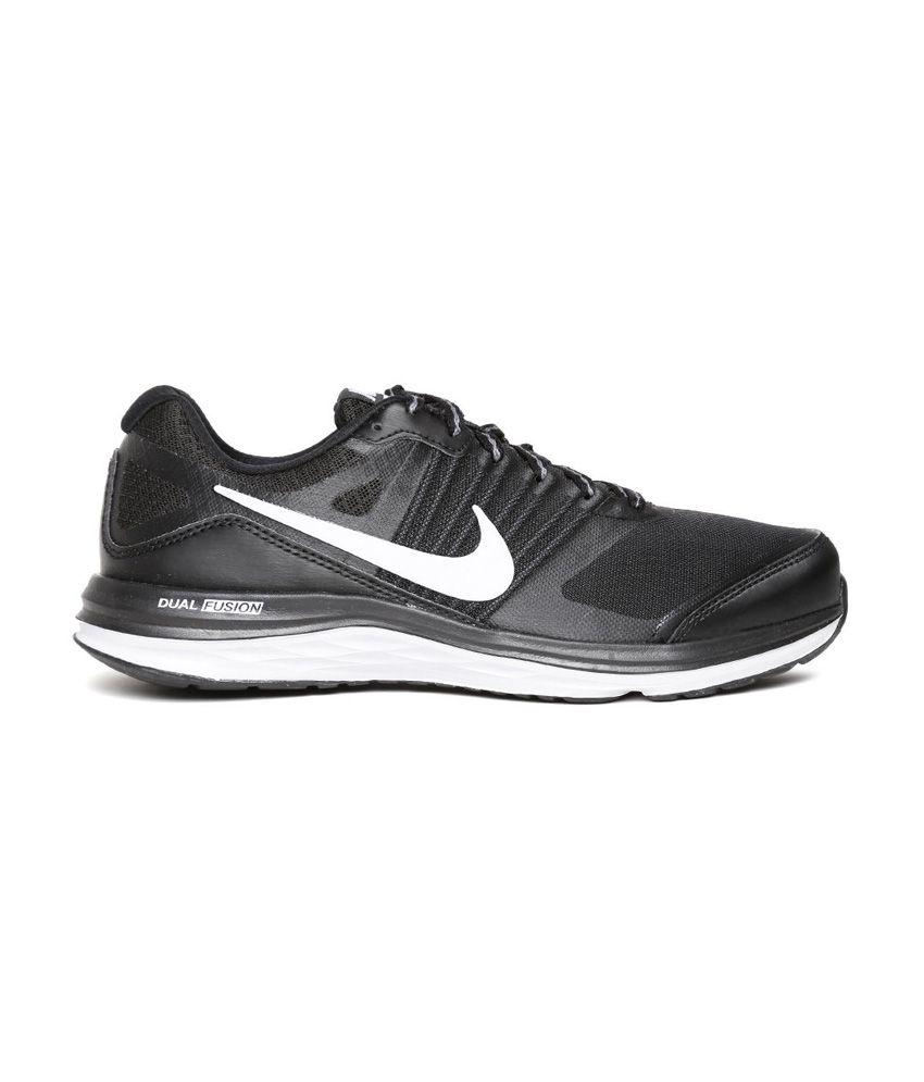 Nike Dual Fusion X MSL Black Running Shoes - Buy Nike Dual Fusion X ... 46f27a71e