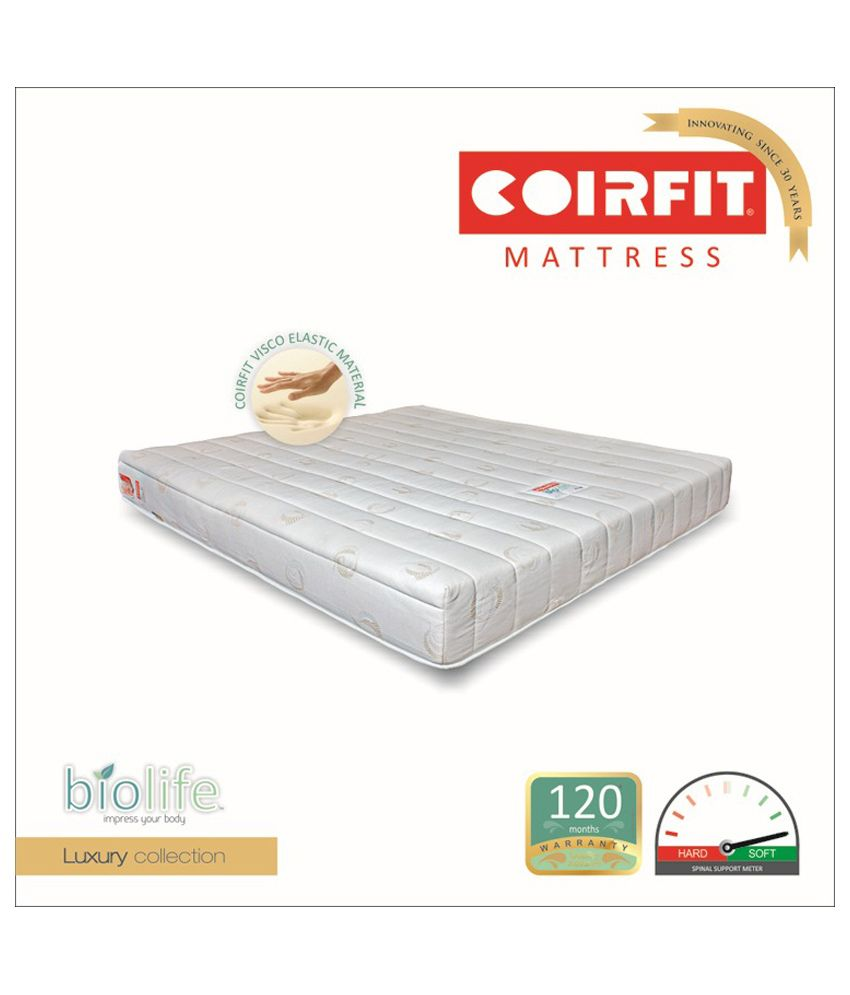 coirfit biolife visco 6 inches heavenly comfort buy coirfit