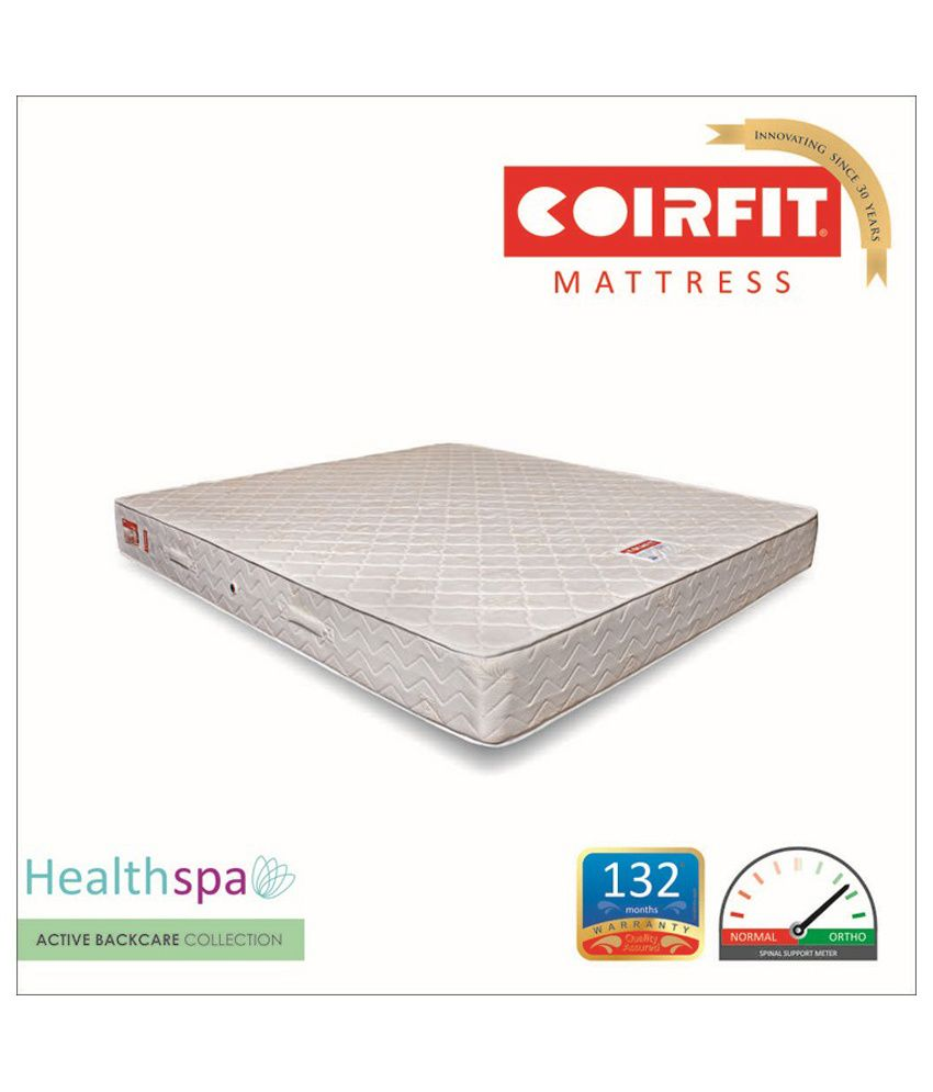 coirfit health spa active 6 inches soothen up your senses buy