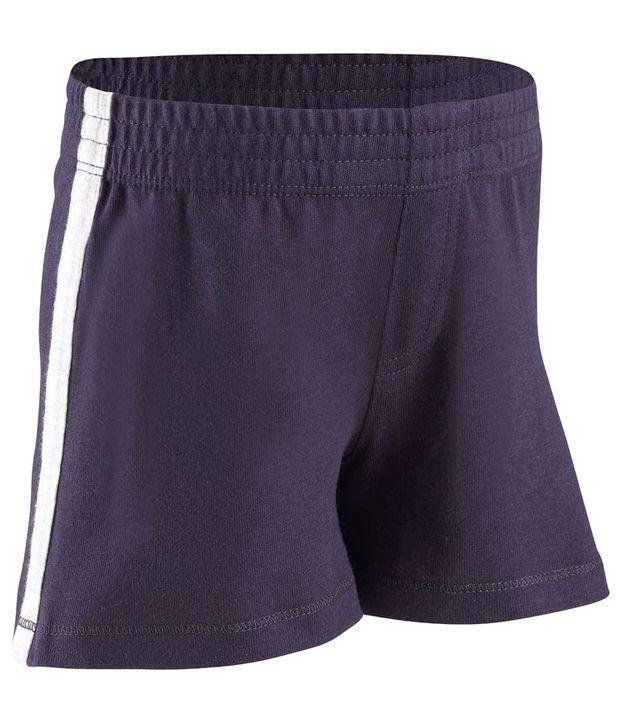 Domyos Navy Unisex Fitness Shorts