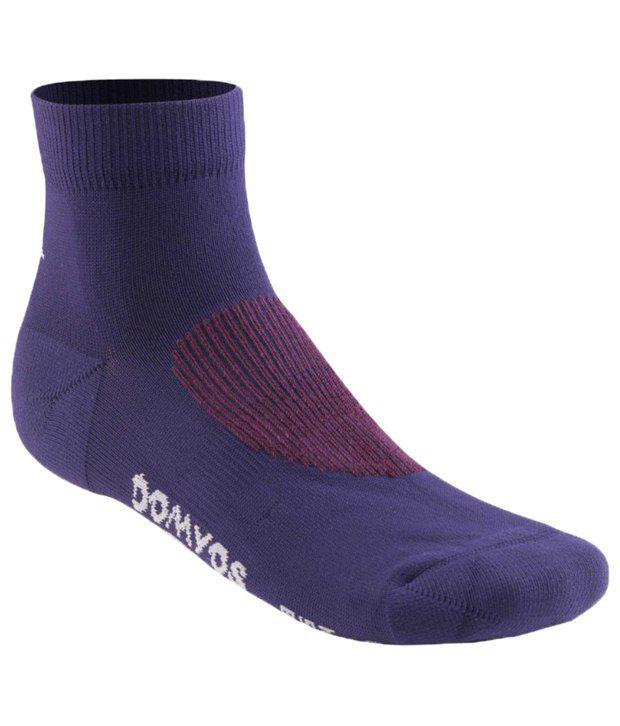 Domyos Purple Cardio Socks For Women