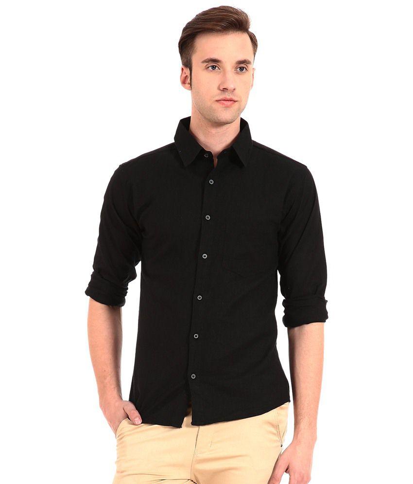 Fedrigo Combo Of Black Shirt With Wayfarer Sunglasses - Buy ...
