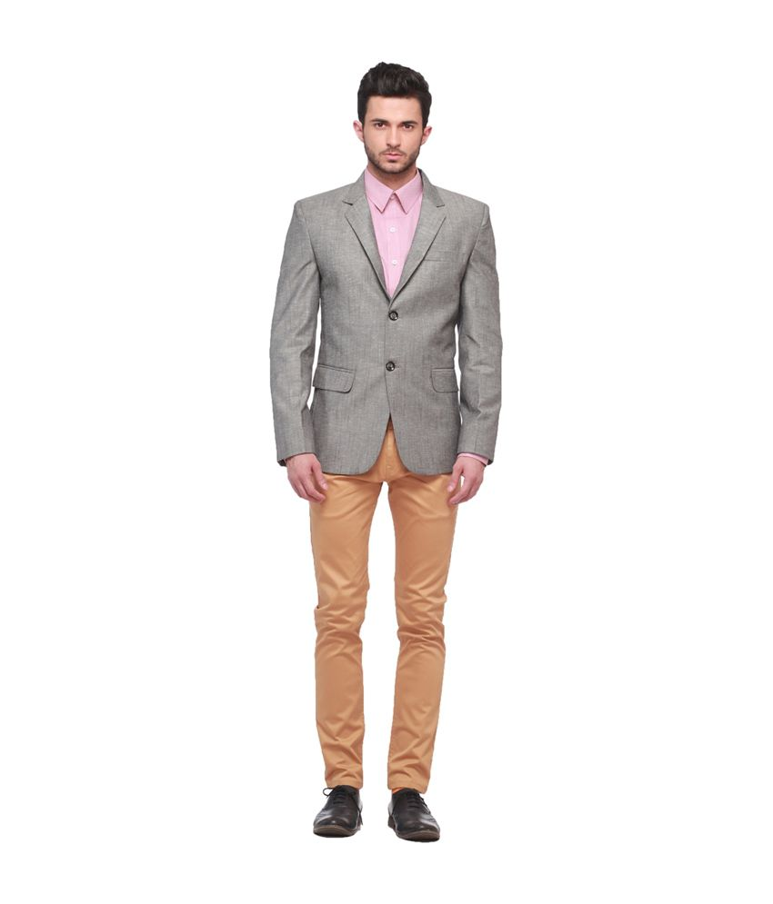 Jogur Gray Formal Blazer