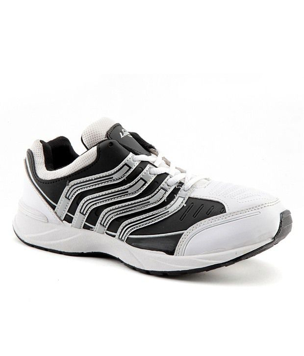 lancer black and white sports shoes buy lancer black and
