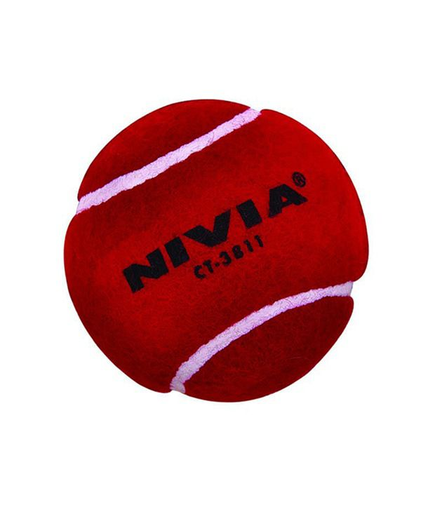 4599fdbcf0c Nivia Cricket Tennis Ball Heavy Weight Red Per 6 Balls Ct-3811  Buy Online  at Best Price on Snapdeal