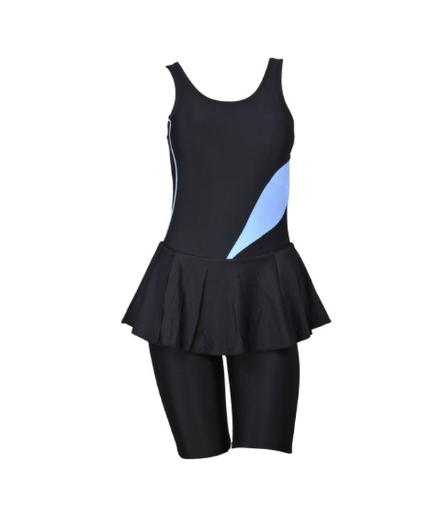 Champ Women Black Swimsuit/ Swimming Costume