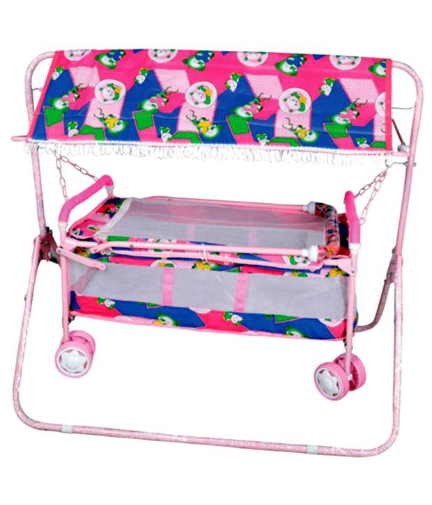 Sethi Cradle Cum Carry Cot for New Born Baby