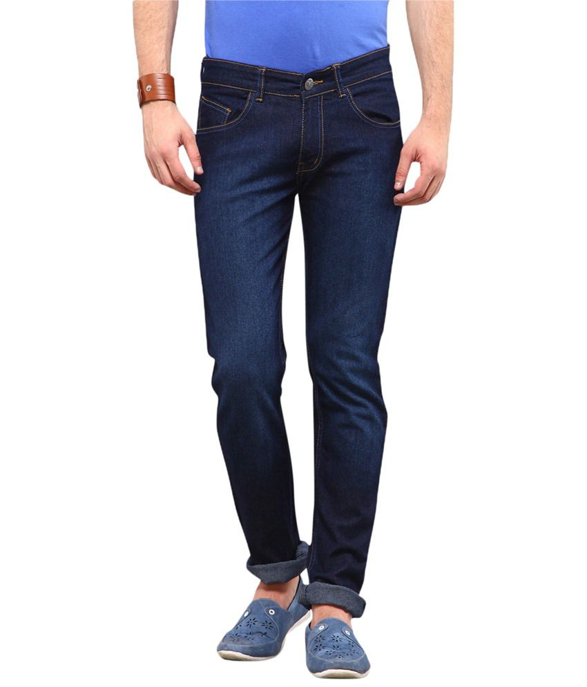 Yepme Josef Dark Blue Slim Fit Denims