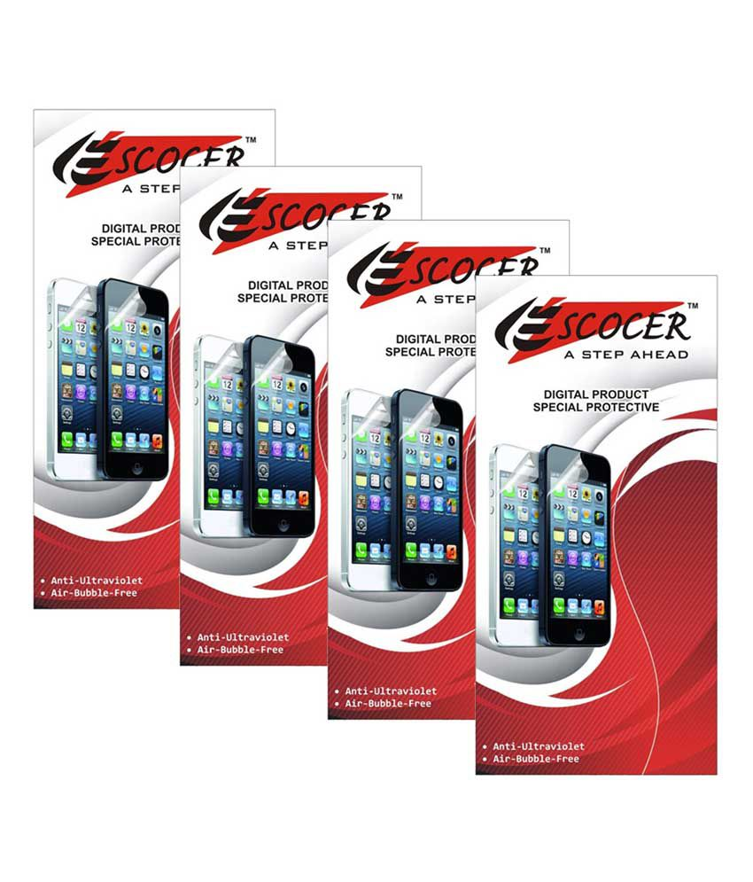 Micromax bolt A67 Clear Screen Guard by Escocer