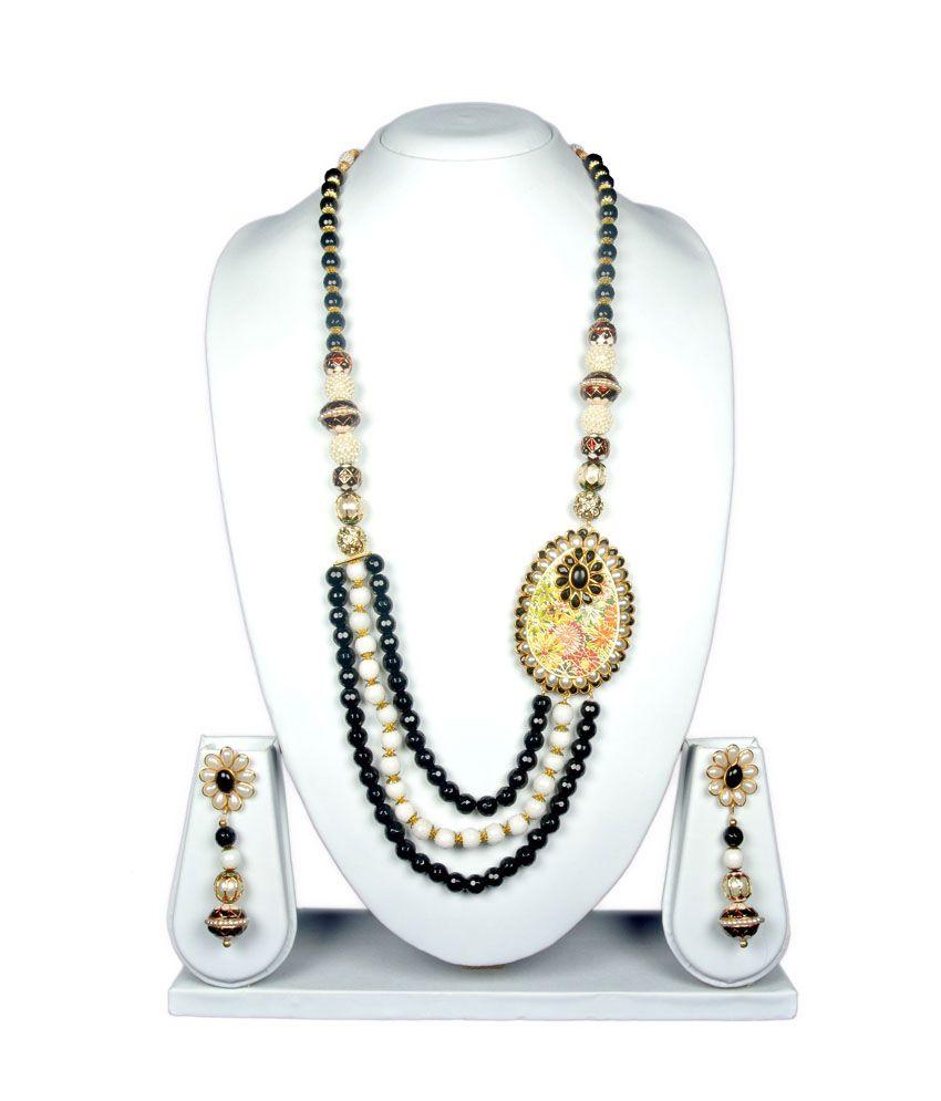 Osas Multicolor Contemporary Necklace Set