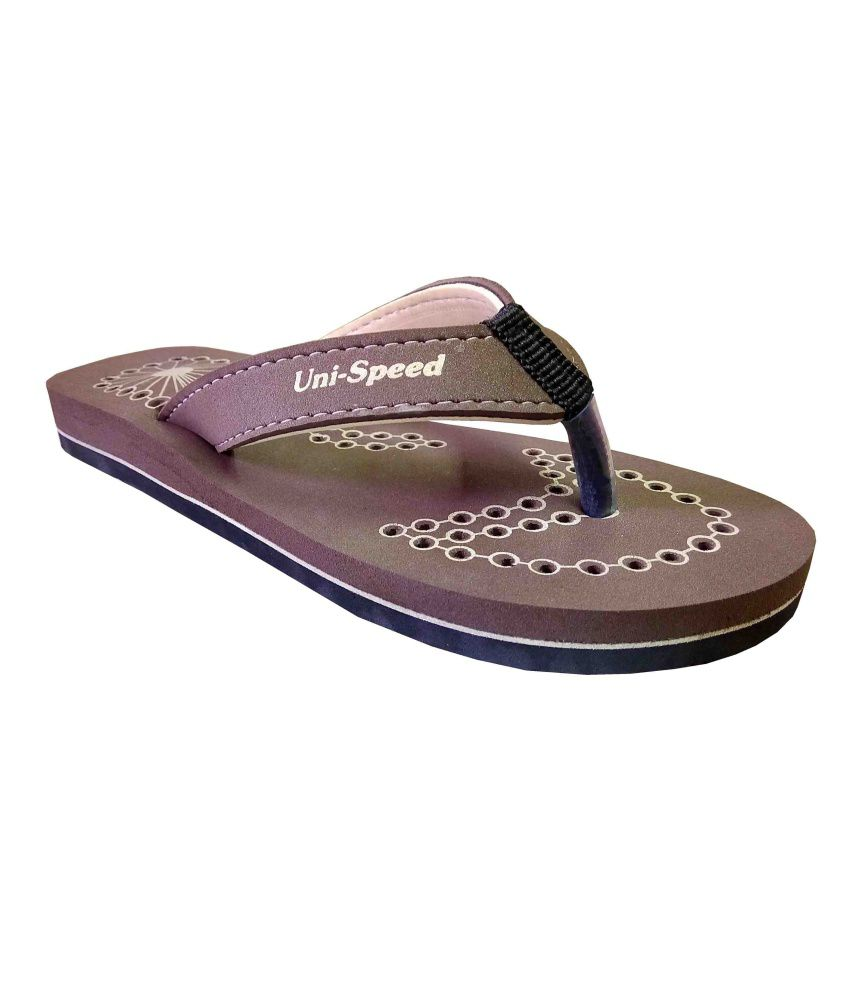 Unispeed Super Soft Accupressure Flipflops
