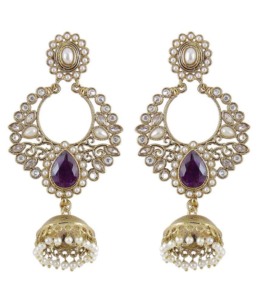 how much are earrings much more jhumki pearl earrings 6994