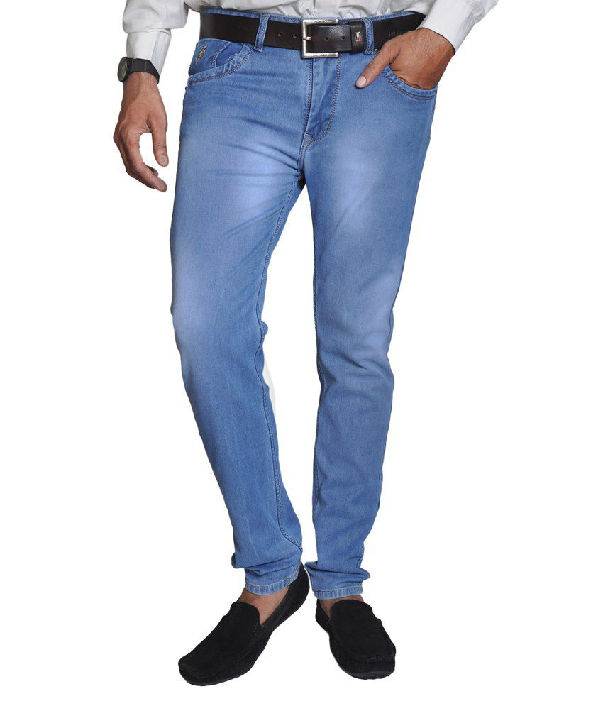 U.S. Polo Assn. Blue Cotton Jeans