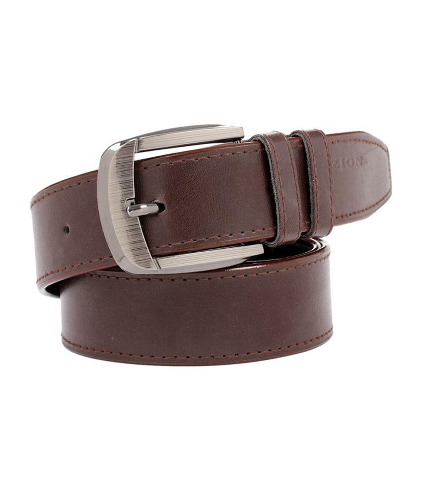 Fedrigo Brown Casual Shine Belt