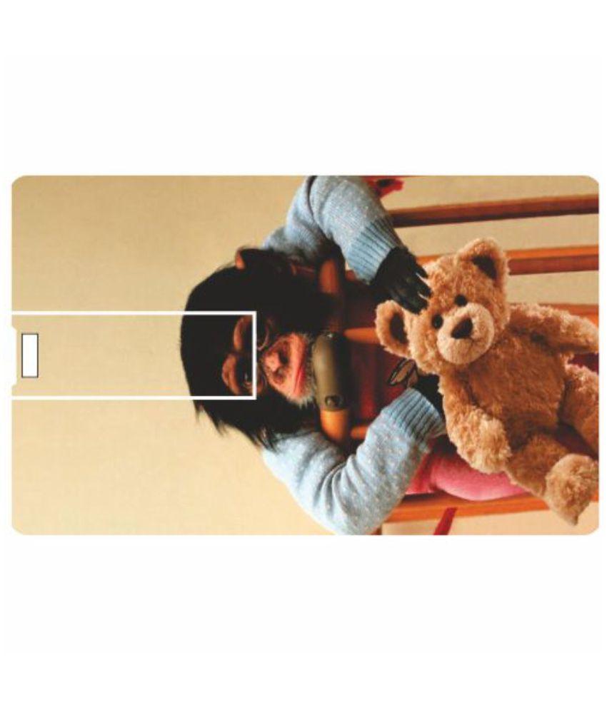 Printland My Teddy 8 GB Pen Drives Multicolor