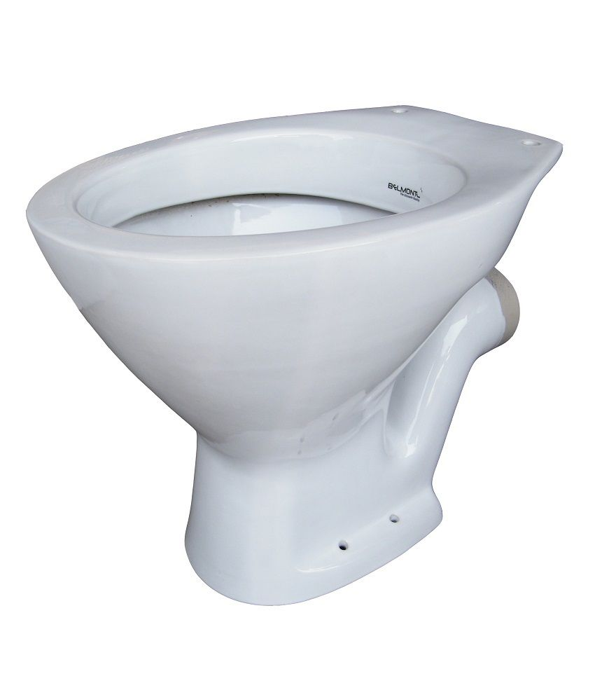 Buy Belmonte Sanitaryware Ewc Toilet Seat P Trap White