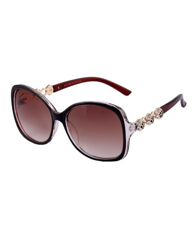 Vast Women's designer crystal sunglasses