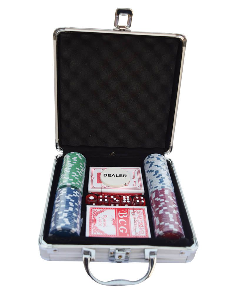 Gowin Professional Poker Set With Aluminum Case