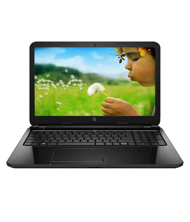 HP 15-R060TU Notebook (4th Gen Intel Core i3-4 GB RAM-500 GB HDD-39.62 cm (15.6)-DOS) (Black)