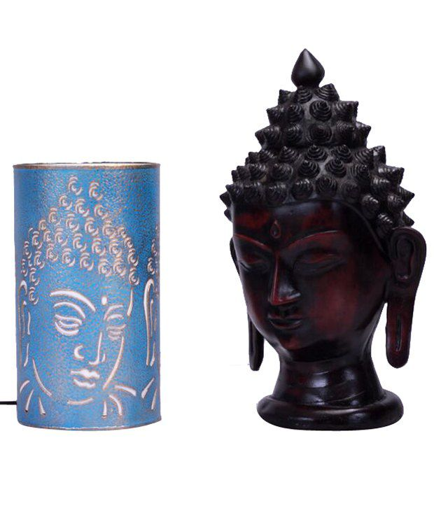 Height Of Designs Blue Lord Buddha Lamp