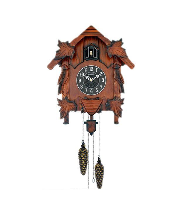 Kaiser Quartz Brown Cuckoo Wooden Wall Clock Buy Kaiser