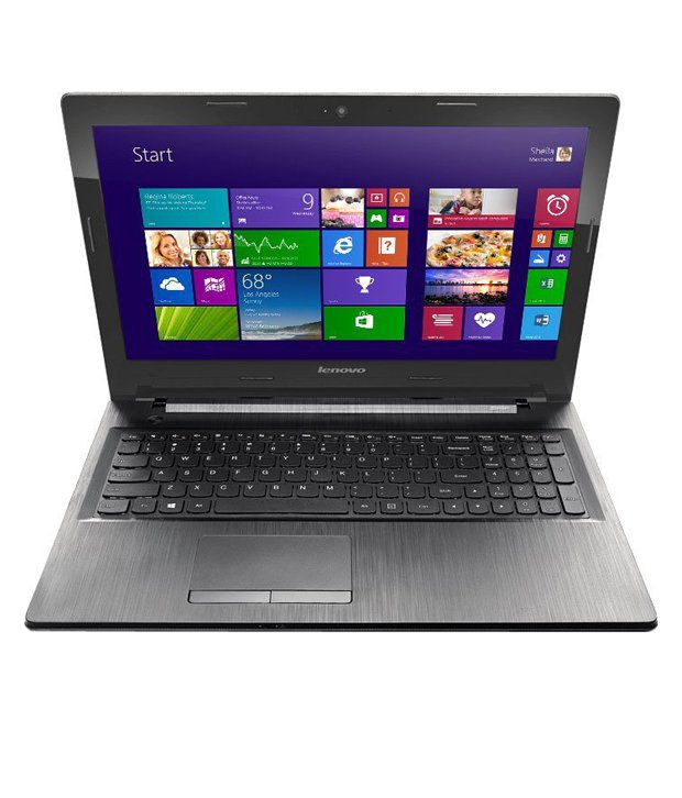 Lenovo G50-45 Notebook (80E3003QIN) (AMD E1-2GB RAM- 500GB HDD-39.62 cm (15.6)-DOS) (Black)